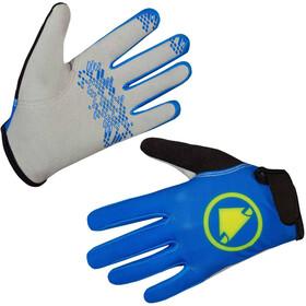 Endura Hummvee Gloves Kids, azure blue